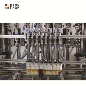 Línea de llenado de botellas de gel de ducha Línea de llenado de champú Voltaje estable Garantía de 12 meses