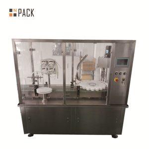 Máquina de llenado y tapado de tarros de crema de loción 10g-100g para la industria cosmética