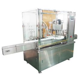 Máquina de llenado y taponado de botellas de líquido electrónico 10ml-100ml con bomba de pistón