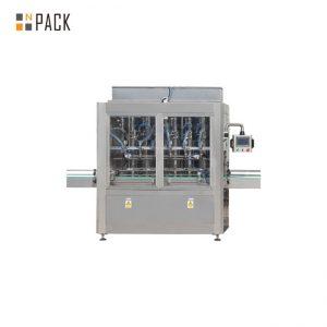 El PLC controla la máquina de llenado de botellas de gravedad de 10 cabezas para 1 - 5L Bleach Cleaner