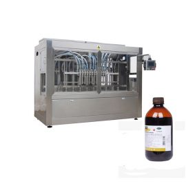 Automatic Gravity Filling Machine 12 Filling Nozzles For 100 – 5000ML Insecticide