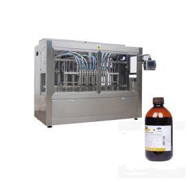 Línea de llenado de botellas líquidas de medicina veterinaria / Línea de máquina de llenado de líquidos corrosivos