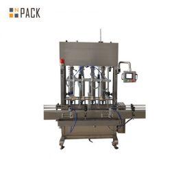 Máquina de llenado de gravedad líquida de fertilizante automático de 12 ml 500ml-5L