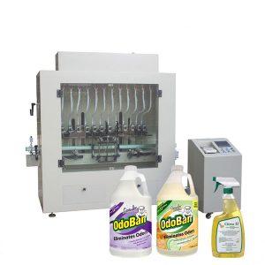 Desinfectante anticorrosivo líquido desinfectante de manos y máquina de llenado de alcohol líquido