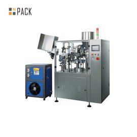 Máquina de llenado y sellado de tubos de crema de pasta de metal plástico