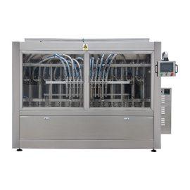 Máquina automática de llenado y taponado de botellas de vidrio de aceite de oliva