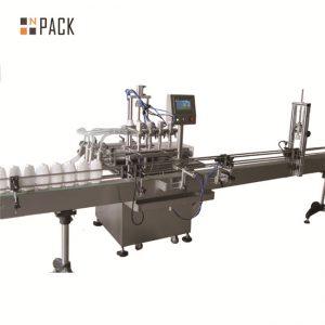 Línea de llenado de líquido automática de potencia de 6.5kw 20 - 50 botellas / capacidad mínima