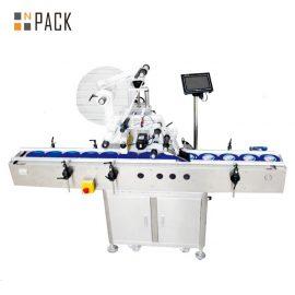 Máquina de etiquetado autoadhesiva del avión eléctrico, máquina de etiquetado del cartón / de la lata / del bolso