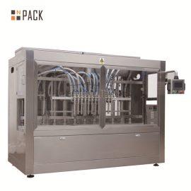 Máquina de rellenar líquida automática anticorrosión con 12 boquillas de relleno