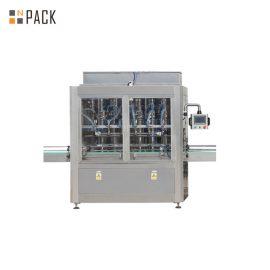 Línea de llenado de la botella de la cápsula de la tableta con la máquina contada y la máquina de inserción de algodón