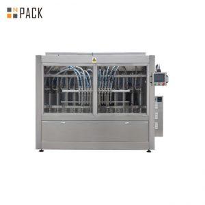 Máquina de llenado de pasta automática de control PLC para jabón líquido / loción / champú 250ML-5L
