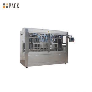 Línea de máquina de llenado de dulces de granulado con máquina de sellado de tapón de inducción