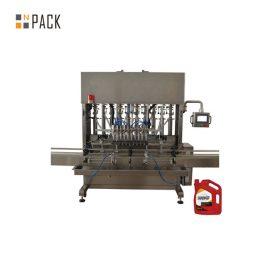 Máquina de rellenar del aceite del motor del lubricante de la alta precisión 8 boquillas para la industria mecánica