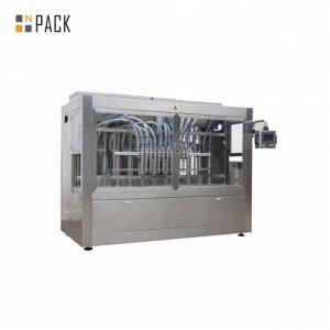 Máquina de rellenar líquida automática anticorrosiva para el desinfectante fuerte 84
