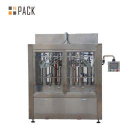 Línea de llenado de botellas más limpia con llenado por botella de gravedad anticorrosiva y máquina de taponado rotativo