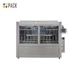Máquina de rellenar detergente industrial, máquina de rellenar del jabón líquido para el limpiador