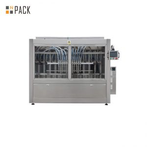 Líquido Limpiador Lineal 6 Cabezales Máquina de Llenado de Pasta Doble Servo Accionado