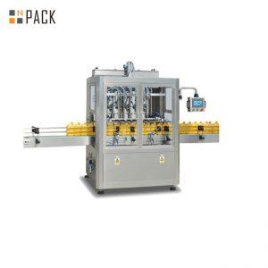 Máquina de llenado de pistón para lavavajillas de 8 cabezas con servo relleno 3000 B / H de gran capacidad