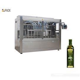 Máquina de llenado de alta eficiencia de coco / aceite de oliva sin fugas con servo relleno
