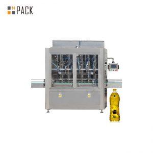 Operación de la pantalla táctil de la máquina de llenado de aceite comestible de 220V / 380V
