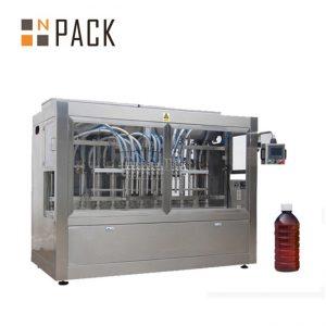 Máquina de rellenar líquida auto de 8 cabezas lineares para las sustancias químicas / el fertilizante / el pesticida