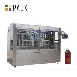 Máquina de rellenar líquida semi automática / llenador de la botella de la gravedad del tiempo para el pesticida