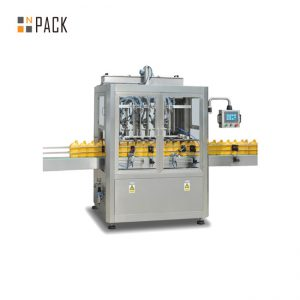 Máquina de rellenar de la goma del mantenimiento fácil / máquina de rellenar de 6 cabezas para el champú