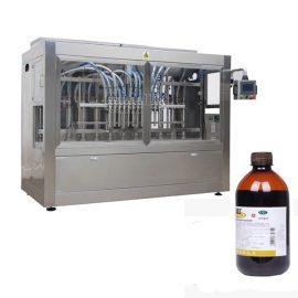 Máquina de línea de llenado de botellas de pesticidas completamente automática