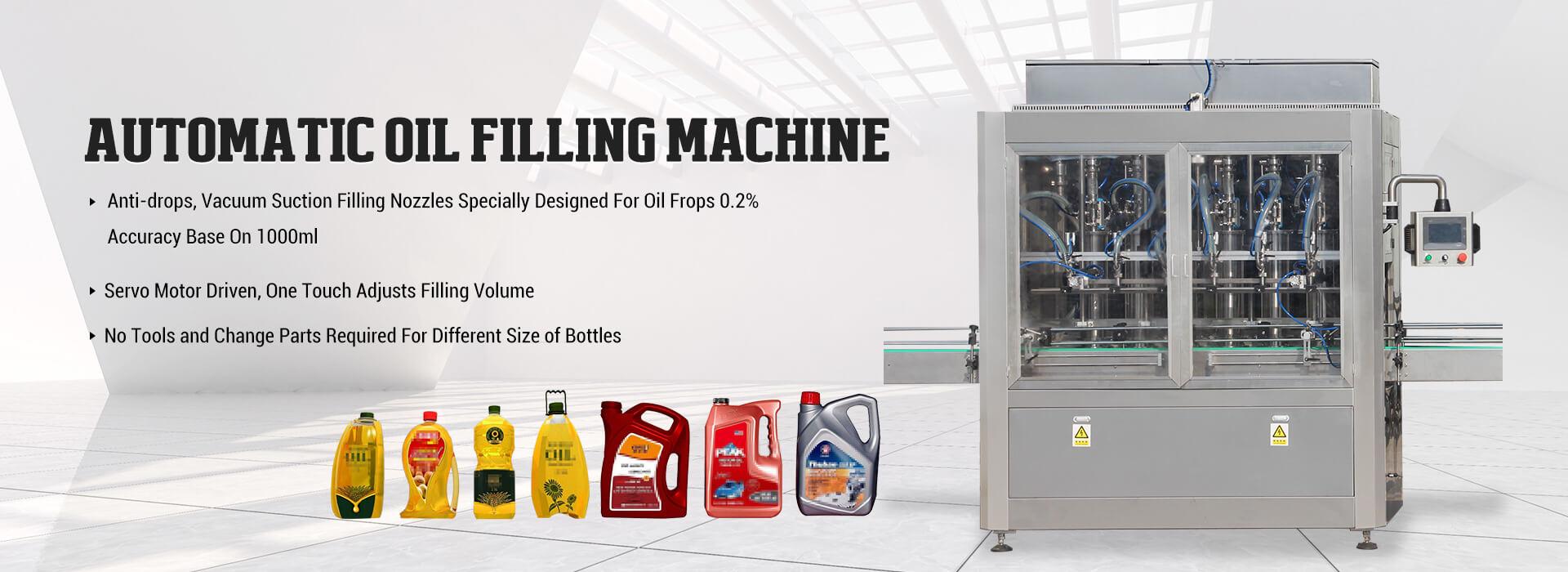 Máquina de llenado de aceite