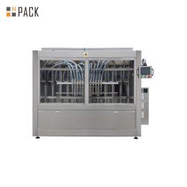 Máquina automática de llenado de líquidos de alta viscosidad Máquina de llenado de líquidos calientes