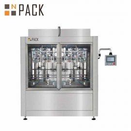 Máquina automática de llenado de botellas de vidrio de plástico de cosméticos de aceite esencial