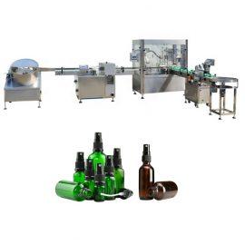 Máquina automática de llenado y taponado monobloque, máquina tapadora de llenado de líquido en aerosol