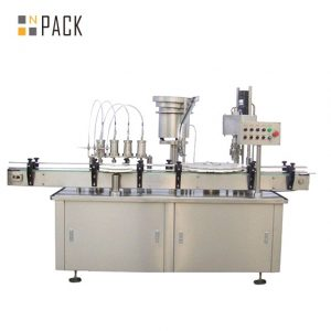 Equipo de llenado automático de botellas de la máquina de rellenar del frasco del perfume del aerosol durable