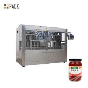 Máquina de embotellado comercial de pasta de tomate