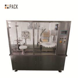 Máquina automática de llenado de botellas de viales con llenado de bomba peristáltica