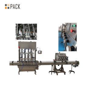 Máquina que capsula ROPP eléctrica que prensa rotatoria 6 cabezas para las botellas de aluminio del casquillo