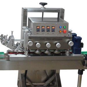 Máquina para taponar botellas de una cabeza
