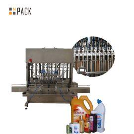Limpiador de vidrio multifuncional Máquina de llenado de jabón líquido Línea automática de llenado de líquido