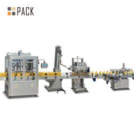 Agua de blanqueo Limpiador de inodoros Máquina de llenado Material resistente a la corrosión